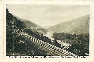 B&O Railroad, Rowlesburg, Cheat River