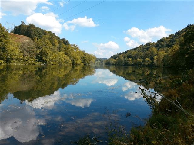 mon river trail monongahela river'