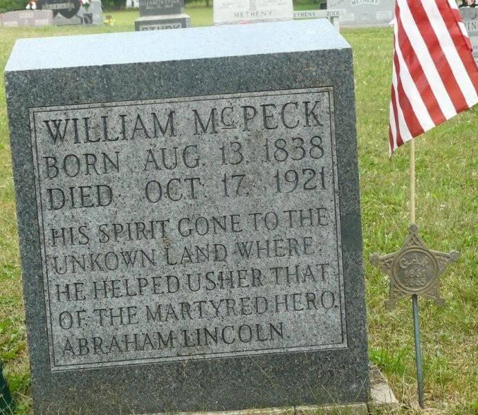 william mcpeck civil war kingwood abraham lincoln